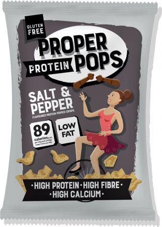 Proper Pops Proper Protein Pops 25g Salt & Pepper