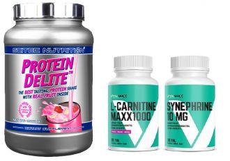 Proteinová dieta se super spalovači