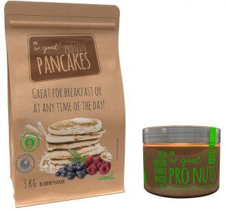 Proteinové palačinky 3kg + PRO NUTS 450g