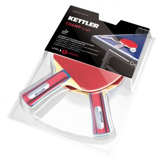 Sada 2 sportovních pingpongových pálek CHAMP