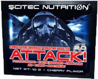 Scitec ATTACK 2.0 25 x 10g