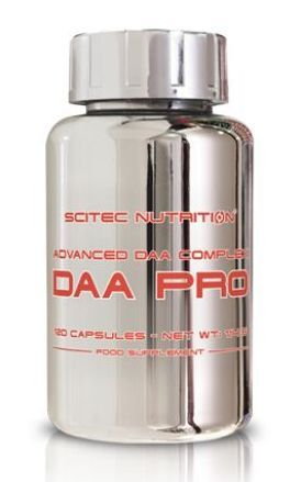 Scitec DAA Pro 120 kapslí