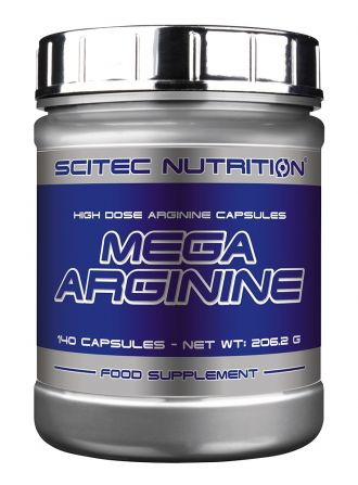Scitec Mega Arginine 140 kapslí