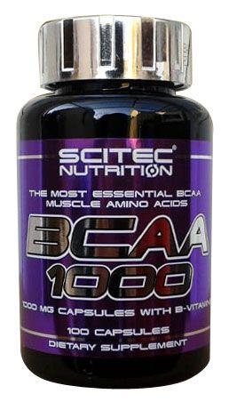 Scitec Nutrition BCAA 1000 100 kapslí