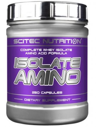 Scitec Nutrition Isolate Amino 250 kapsl�