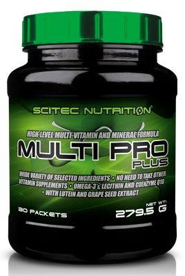 Scitec Nutrition Multi Pro Plus 30 sáčků + Scitec Protein Pudding 120g