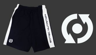 Scitec SHORTS MEN BLACK