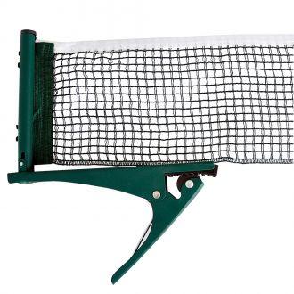 Síťka na stolní tenis inSPORTline včetně svorek - zelená
