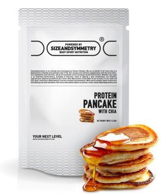 Sizeandsymmetry Protein Pancake sCHIA 700g kakao