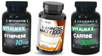 SUPERSPALOVAČE Vitalmax L-CARNITINE + SYNEPHRINE + CAFFEINE
