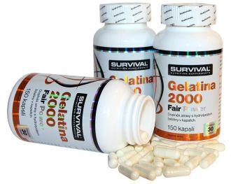 Survival Gelatina 2000 Fair Power 150 kapslí