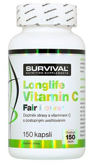 Survival Longlife Vitamin C Fair Power 150 kps