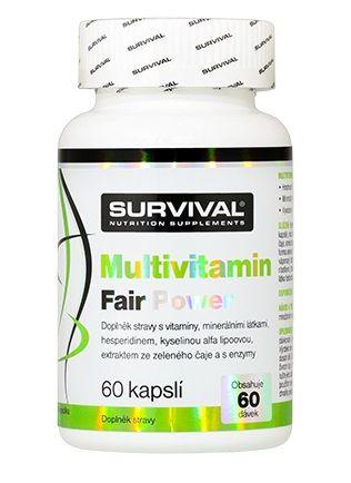 Survival Multivitamin Fair Power 60 kps