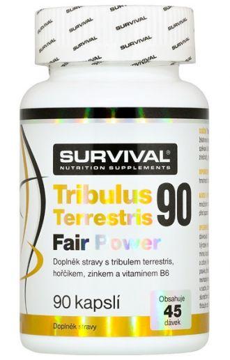 Survival Tribulus Terrestris Fair Power 90 cps