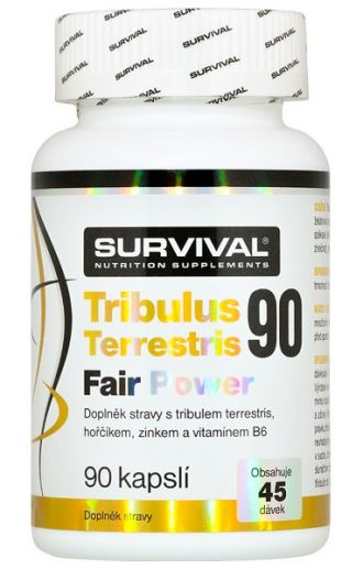 Survival Tribulus Terrestris Fair Power 90 tbl
