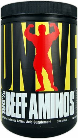 Universal BEEF AMINOS 200tbl.
