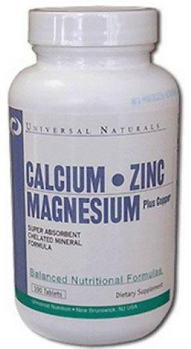 Universal Calcium Zinc Magnesium