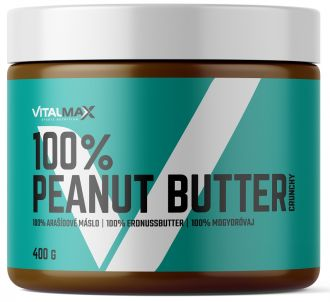 Vitalmax 100% Peanut Butter crunchy 400g