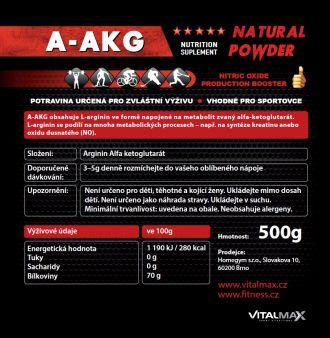 Vitalmax A-AKG natural 500g