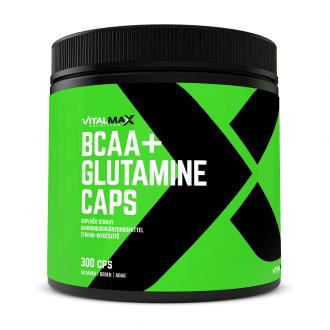 Vitalmax BCAA + GLUTAMINE CAPS 300cps
