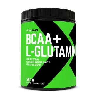 Vitalmax BCAA + L-GLUTAMINE 500g INSTANT