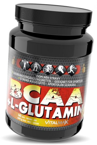 Vitalmax BCAA + L-GLUTAMINE 600g