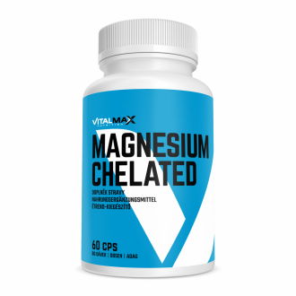 Vitalmax MAGNESIUM CHELATED 60 kapslí
