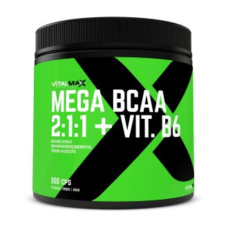 Vitalmax MEGA BCAA 2:1:1 + vit B6 300 kapsl�