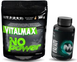 Vitalmax NO POWER 300g + MaxxWin CAFFEINE Energy 60 tbl.