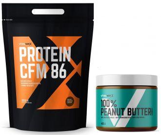 Vitalmax PROTEIN CFM 86 2200g + Peanut Butter 400g crunchy