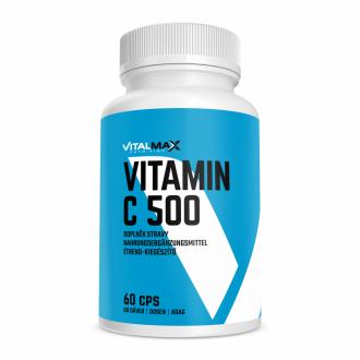 Vitalmax VITAMIM C 500mg se šípkem