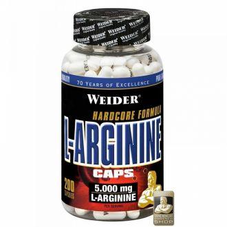Weider L-Arginine 200 kapsl�
