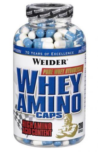 Weider Whey Amino Caps - 280 cps.
