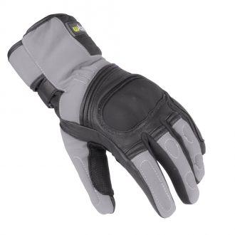 Zimní kožené/textilní moto rukavice W-TEC NF-4004