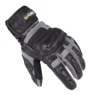 Zimní kožené/textilní moto rukavice W-TEC NF-4070