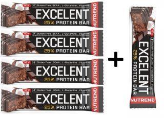 Image of Akce 4+1 zdarma Nutrend Excelent Protein bar 85g