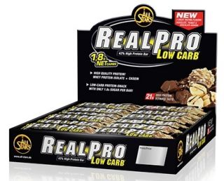 Náhled - All Stars Real Pro Low Carb Bar 50g