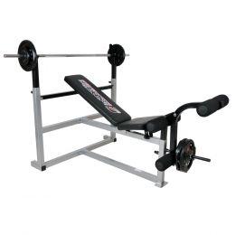 Bench press lavice inSPORTline Olympic + servis u Vás doma provádíme kdekoliv v ČR