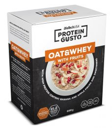BioTech Protein Gusto Oat and Whey With Fruits 696g