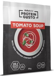 Náhled - BioTech Protein Gusto Tomato Soup 30g GLUTEN FREE