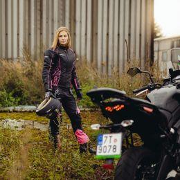 Dámské kožené moto rukavice W-TEC Malvenda NF-4208  24c5b6e215