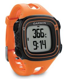 Garmin Forerunner 10 Orange and Black