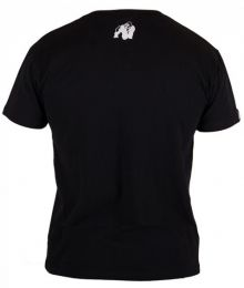 GORILLA WEAR Essential V-Neck T-Shirt Black