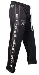 GORILLA WEAR Functional Mesh Pants Black/White