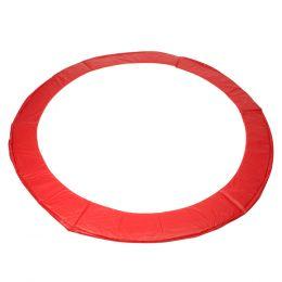Kryt pružin na trampolínu 244 cm - červená