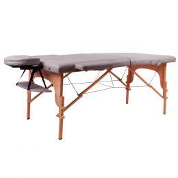 Masážní lehátko inSPORTline Taisage 2-dílné dřevěné + dárek zdarma