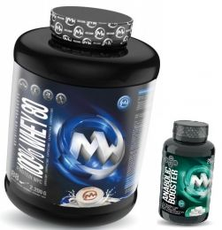 N�hled - MaxxWin 100% WHEY 80 2200g + Anabolic Booster 80 tbl.