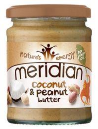 Meridian Coconut Butter Peanut 280g kokosovo-arašídové máslo