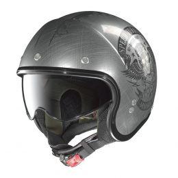 Moto helma Nolan N21 Speed Junkies Scratched Chrome + servis u Vás doma provádíme kdekoliv v ČR