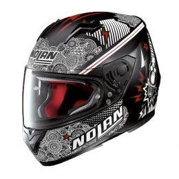 Moto helma Nolan N64 Let's Go Flat Black + servis u Vás doma provádíme kdekoliv v ČR
